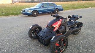 10. Can-Am Ryker Bike 900cc
