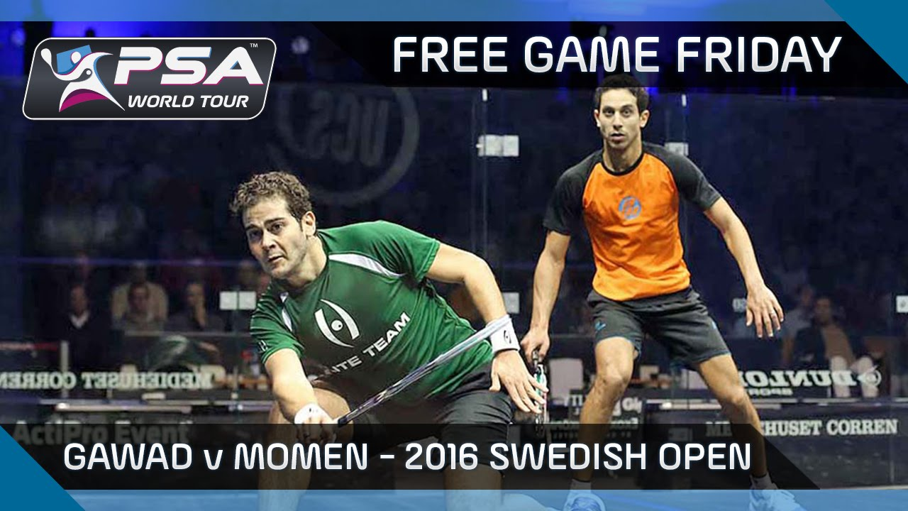 Squash: Free Game Friday – Gawad v Momen – UCS Swedish Open 2016