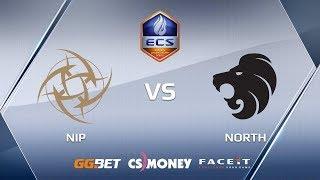 North vs NiP, map 2 overpass, ECS Season 6 Finals