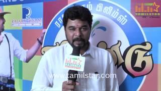 Director Nandha Kumar at Kalkandu Movie Audio Launch