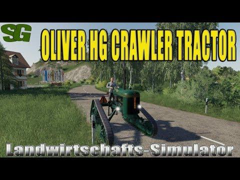 Oliver hg crawler tractor beta
