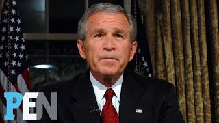 Video George W. Bush On Donald Trump, Michelle Obama, 9/11 & Much More | PEN | Entertainment Weekly MP3, 3GP, MP4, WEBM, AVI, FLV November 2018