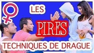 Video Les 10 PIRES TECHNIQUES pour DRAGUER une fille ! by Bodytime et Caroline & Safia MP3, 3GP, MP4, WEBM, AVI, FLV November 2017