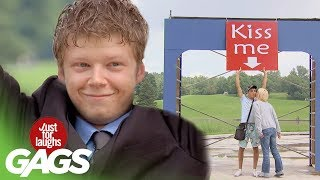 Just For Laughs Gags - Kiss Me