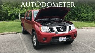 2016 Nissan Frontier Engine Review 4.0L 6 Cylinder