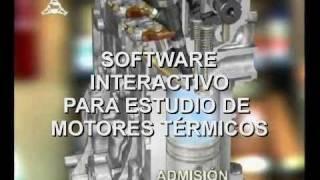 Software interactivo para el estudio de motores termicos