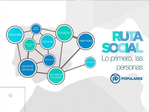 """Javier Maroto presenta la RutaSocial """"Lo primero las personas"""""""
