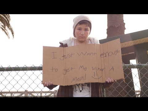 Homeless Child Experiment [WATCH]