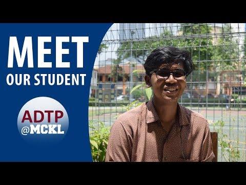 ADTP@MCKL | Meet our student, Sherwin
