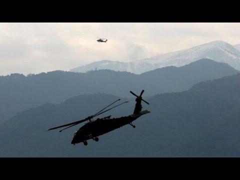 Εντυπωσιακή κοινή στρατιωτική άσκηση Ελλάδας-ΗΠΑ στον Όλυμπο…
