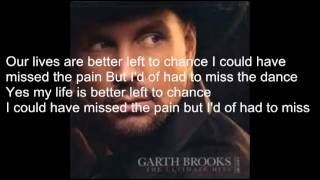 The Dance with lyrics by Garth Brooks (cover)