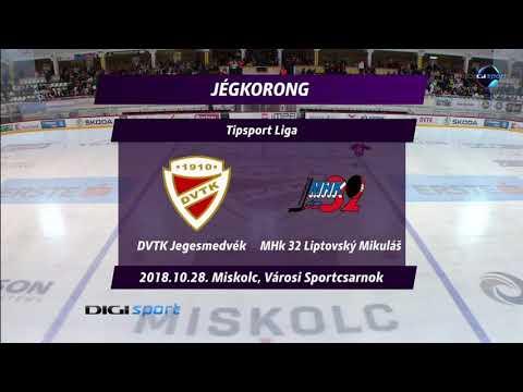 17. forduló: DVTK Jegesmedvék - MHk 32 Liptovský Mikuláš 2-4