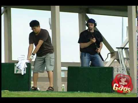 Golf Shooting Range Prank