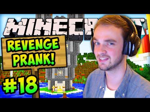 """MINECRAFT (How To Minecraft) – w/ Ali-A #18 – """"REVENGE PRANK"""""""