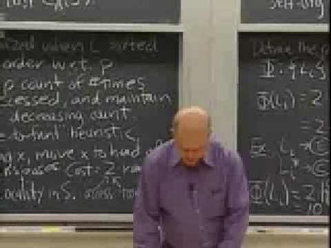Lec 14   MIT 6.046J / 18.410J Introduction to Algorithms (SMA 5503), Fall 2005
