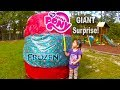 Biggest Surprise Egg Ever! Surprise Toys Eggs of Disney Frozen, Spiderman, Hello Kitty & Powerwheels