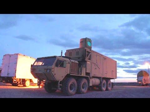Boeing - High Energy Laser Mobile Demonstrator (HEL MD) Destroys Mortars Mid-flight [720p]