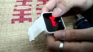 Hướng dẫn sử dụng đồng hồ LED cảm ứng