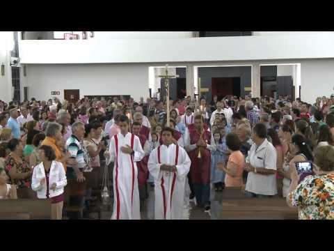 Missa MEJ Santa Cruz do Rio Pardo/SP - Paróquia São Benedito - 26/02/15