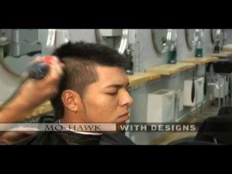 cortes de pelo de hombre ( video instructional en espanol volumen 2 ) fade,mo-hawk,y diseno