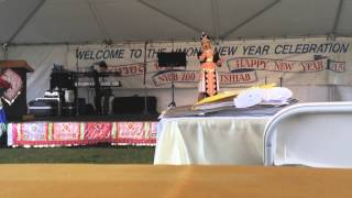 Lily Vang San Diego Hmong New Year 2014-15