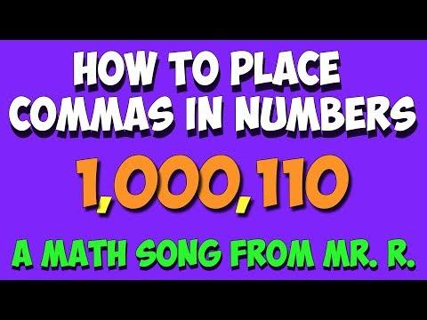 Komma Song - Wie man Kommas in Zahlen setzt