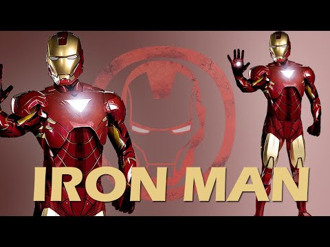 Iron Man Deluxe Filmkostüm