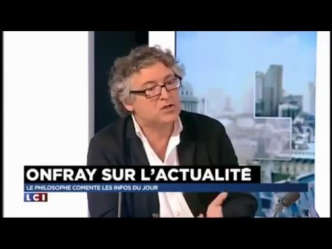 Michel Onfray balance tout en direct sur LCI