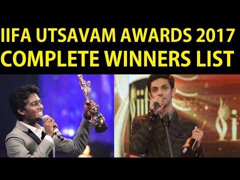 IIFA UTSAVAM Awards 2017 Tamil Complete Winners List | Tamil Cinema News