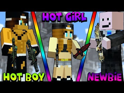 Video Hot Boy vs Hot Girl vs Newbie [Pixel Gun 3D Edition] download in MP3, 3GP, MP4, WEBM, AVI, FLV January 2017