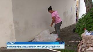 Campanha pede implantação da coleta seletiva de lixo em Marília