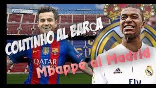 La actualidad azulgrana viene con noticias sobre Coutinho al Barça. Parece que al fin Mbappé irá al Madrid y que Neymar se queda en el Barça y hoy lo ...