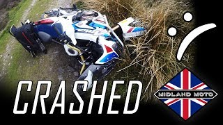 1. How Not To Review | 2018 Honda CRF1000L Africa Twin Adventure Sports DCT | Off Road Crash