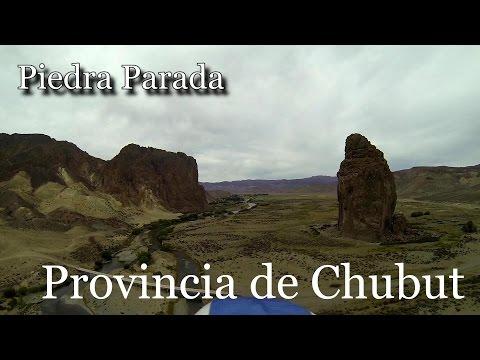 Conocé el Valle de Piedra Parada en Chubut: Imperdibles imágenes de la Reserva Natural desde el aire
