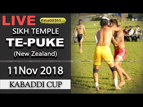 Te Puke (New Zealand) Kabaddi Cup11 Nov 2018