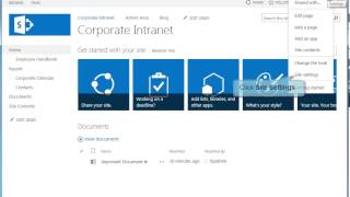 How to Create a New SharePoint 2013 Site Template - SharePoint 2013 Tutorials