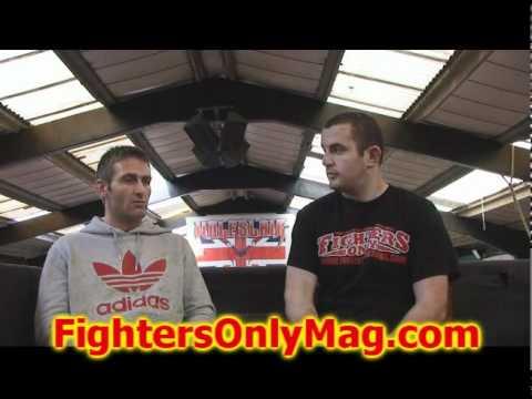 Kurt Warbuton talks upcomming fight vs Spencer Fisher at UFC 120