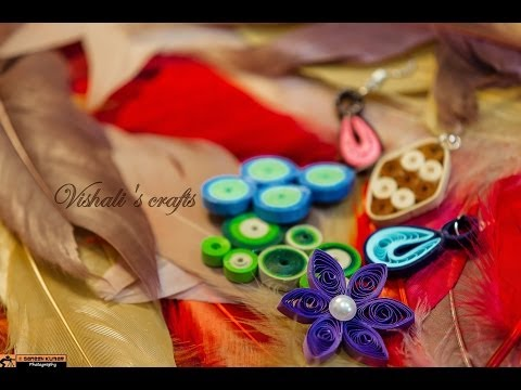 Paper quilling tutorial for beginners in Tamil