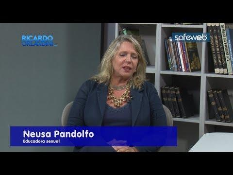 Ricardo Orlandini entrevista a educadora sexual Neusa Pandolfo e o médico cardiologista Alcides José Zago.