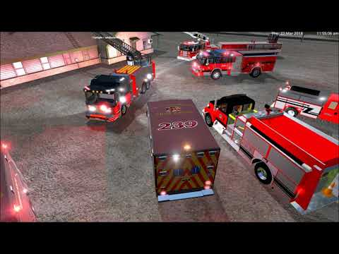 Two airfield fire engines v1.0.0.0.1