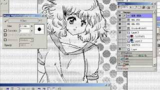 Tutorial: How To Draw Manga/ Anime Girl - Manga Studio