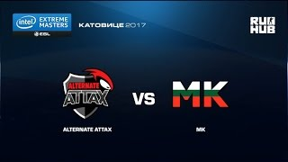 Alternate ATTAX vs MK - IEM Katowice EU Open Qulifier1 - de_dust2 [yxo]
