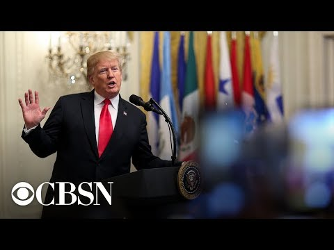 Watch President Trump's full remarks on new NAFTA agreement, USMCA
