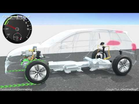 Volkswagen Electric Mobility: Animation Regenerative Braking