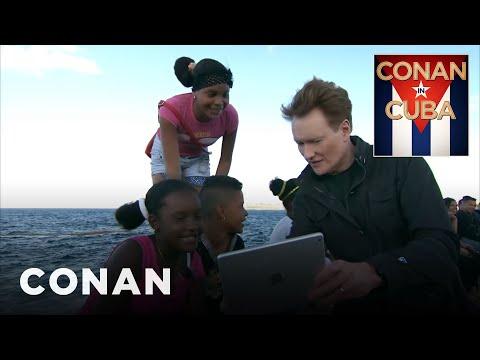 Conan již brzy na Kubě
