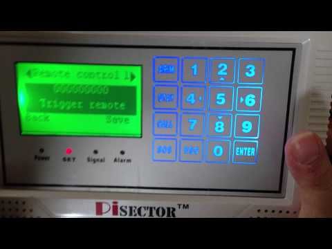 How to add new sensor to Pisector professional GSM03 alarm system 4