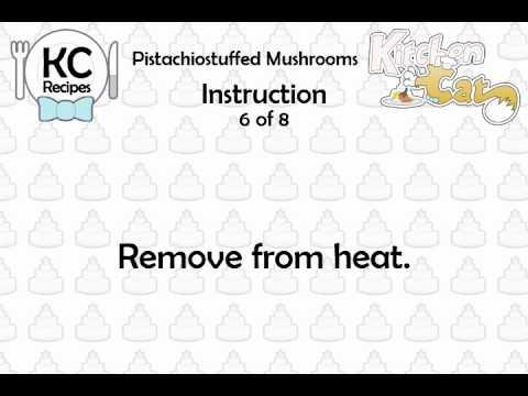 Video of KC Pistachiostuffed Mushrooms