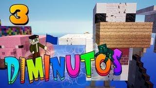 INVASIÓN AL ESQUELETO!! #DIMINUTOS | Episodio 3 | Minecraft Supervivencia