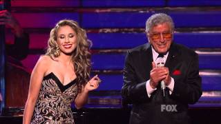 """true HD Haley Reinhart Tony Bennett """"Steppin' Out with My Baby"""" ~ Finale American Idol 2011 (May 25)"""