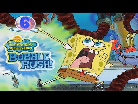 SpongeBob SquarePants Bubble Rush! The Driving School Level 7-11